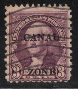 Canal Zone Scott 115 used overprint