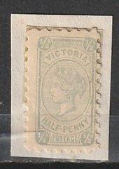 #133 Victoria Australia Mint on paper