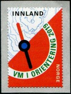 HERRICKSTAMP NEW ISSUES NORWAY Sc.# 1875 World Orienteering Self-Adh. Coil