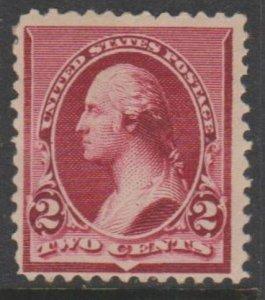 U.S. Scott #219D Washington Stamp - Mint Single - IND