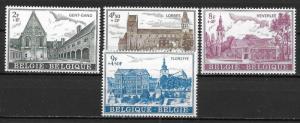 Belgium B897-900 1973 Abbey set NH
