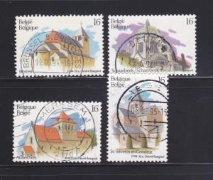 Belgium 1554, 1556-1558 U Tourism