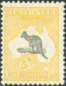 AUSTRALIA #100 VF OG LH CV $425.00 BP3774