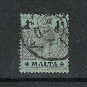 Malta, Sc 62 (SG 81), used