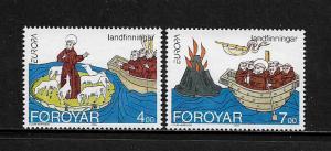 Faroe Is #264-5 MNH Set - Europa