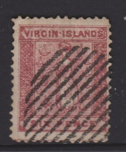 Virgin Islands Sc#2 Used - Forgery?