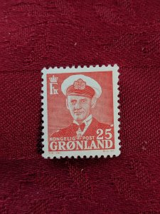 Greenland 32 VFNH, CV $2.75