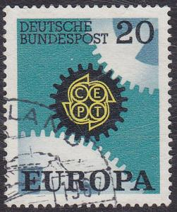 Germany 1967 SG1438 Used