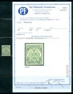 Transvaal #135 REPRINT  Mint   PF Certificate
