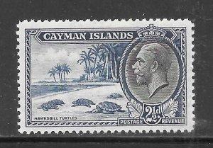 Cayman Islands #90 MH Single