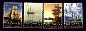 Pitcairn Is 738-41 MNH 2012 Bounty Replicas
