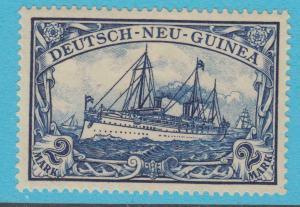 GERMAN NEW GUINEA 23 YACHT MINT HINGED OG * NO FAULTS VERY FINE !