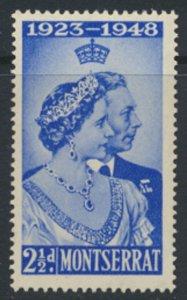 Montserrat  SC# 106  MNH   Silver Wedding 1948  - see detail & scans