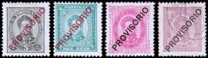 Portugal Scott 81-84 (1892) Mint/Used H VF, CV $77.25 B