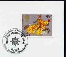 Postmark - Great Britain 1974 cover bearing illustrated c...