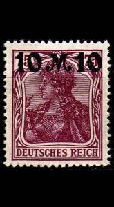 GERMANY REICH [1921] MiNr 0157 I ( **/mnh )