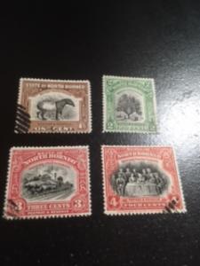 North Borneo sc  136-138,140 uhr