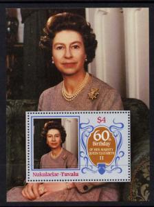 Tuvalu Nukulaelae 58 MNH Queen Elizabeth 60th Birthday