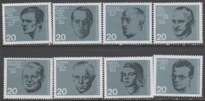 GERMANY 883-890 MNH J483