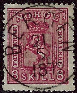 Norway #15 Used VF SCV$70...Chance to buy a Bargain!