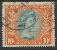 Rhodesia & Nyasaland SG 14 Sc# 154  Used  please see details