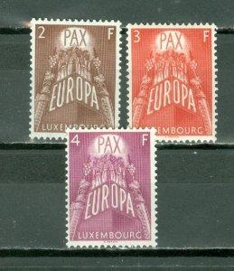 LUXEMBOURG 1957 EUROPA #329-331...SET...MNH...$49.00