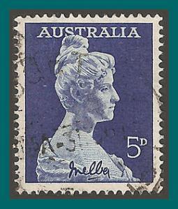 Australia 1961 Dame Nellie Melba, used  341,SG340