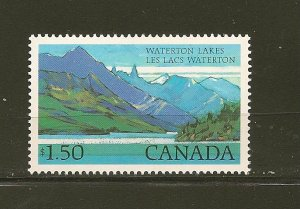 Canada 935 Waterton Lakes National Park MNH