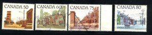 Can #723,723C,724-25   -1   used VF  PD