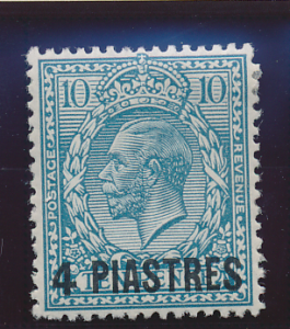 Great Britain, Offices In Turkish Empire (Levant) Stamp Scott #44, Mint Hinge...