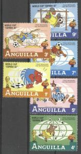 Anguilla 1982 Cartoon, Disney, World Cup, MNH AD.052