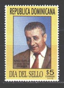 Dominican Republic. 1998. 1897. Ferrua designer, day stamp. MVLH.
