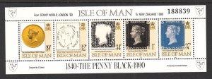 Isle of Man 422h Souvenir Sheet MNH VF