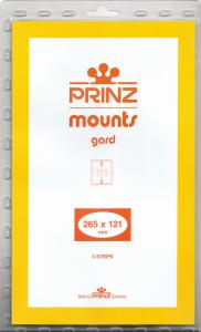 PRINZ BLACK MOUNTS 265X121 (5) RETAIL PRICE $11.50