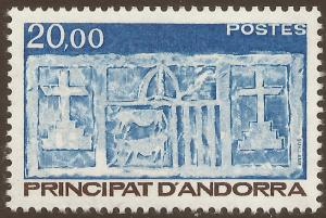 ANDORRA-FRENCH SCOTT 335