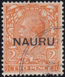 Nauru 1923 SC 4d Used