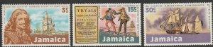 Jamaica, #331-333 Unused From 1971