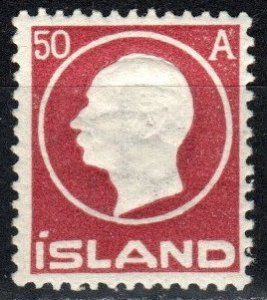 Iceland #95  F-VF Unused CV $9.50 (X2177)