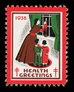 WX 92 1938 Christmas Seal Mint (NH)