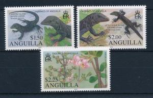 [32365] Anguilla 2010 Reptiles Endemics Lizards MNH