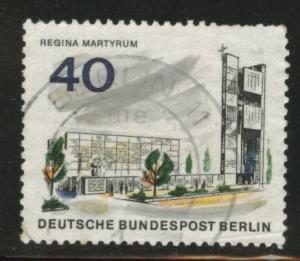Germany Berlin Occupation Scott 9N227 used from 1965-66 set