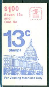 USA - Scott BK132 - 13c Flag over Capitol (SP)