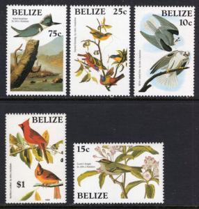 Belize 750-755 Birds MNH VF