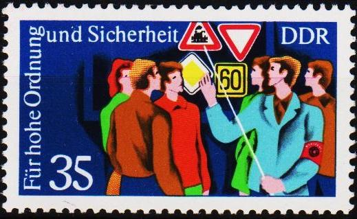 Germany(DDR). 1975 35pf  S.G.E1797 Unmounted Mint