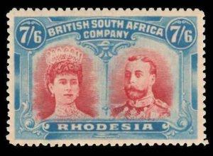 Rhodesia Scott 116 Variety 1 Gibbons 161 Mint Stamp
