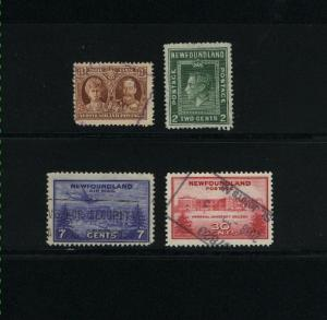 Newfoundland  4 different used  PD