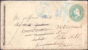 Jeff Davis County Fort Davis ( Postal History ), 1881, Short At Right