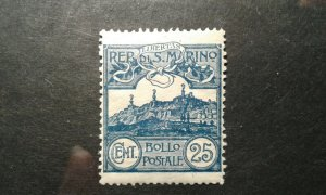 San Marino #53 mint hinged crease e205 9557