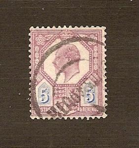 Great Britain  Scott #134  Used    Scott CV $22.50