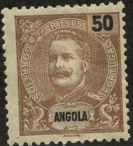 Angola, Scott #47, Unused, Hinged